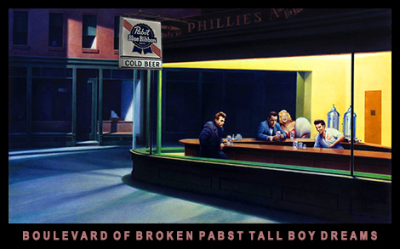 Boulevard of Broken Pabst Tall Boy Dreams 8514