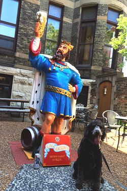 Anchor Before Lunch With Pabst Tall Boy And King Gambrinus 0851