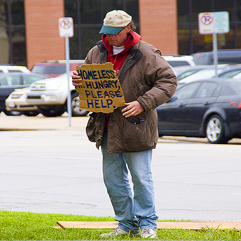 Homeless and Hungry - MKEimages - Creative Photo Designs - Editorial Photography - People - 6041