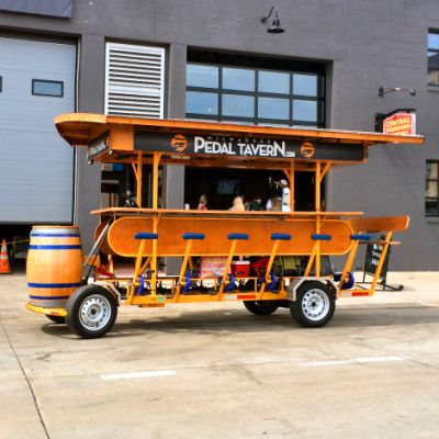 Pedal Tavern Waiting For A Few Riders - MKEimages - Creative Photo Designs - 0120