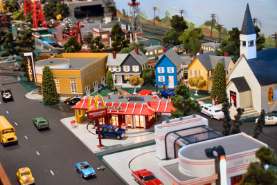 Miniature Town - MKEmages - Creative Photo Designs - Editorial Photography 8170