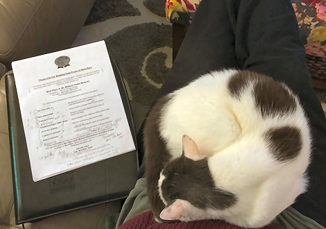 Hard To Get Paperwork Done With The Lap Cat 7236
