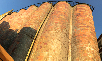 Silos at Sunset 4673