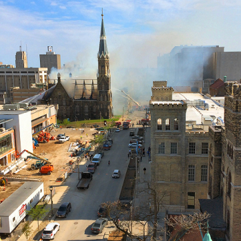 Trinity Evangelical Lutheran Church Fire 1234